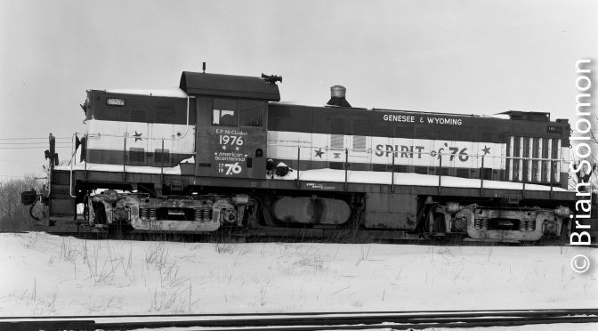 Genesee & Wyoming Alco RS-1.