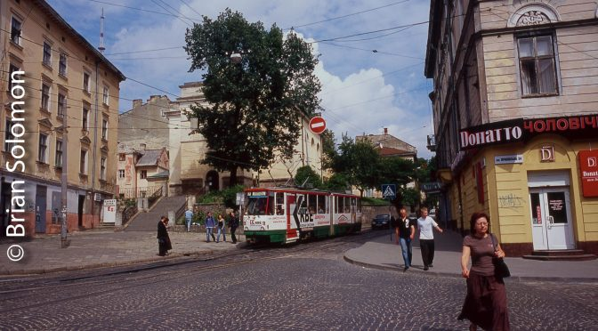 On the Streets of L'Viv.