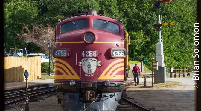 Conway Scenic Railfan's Weekend—September 5 & 6.