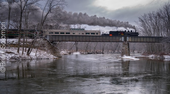 Steam Over the Saco.