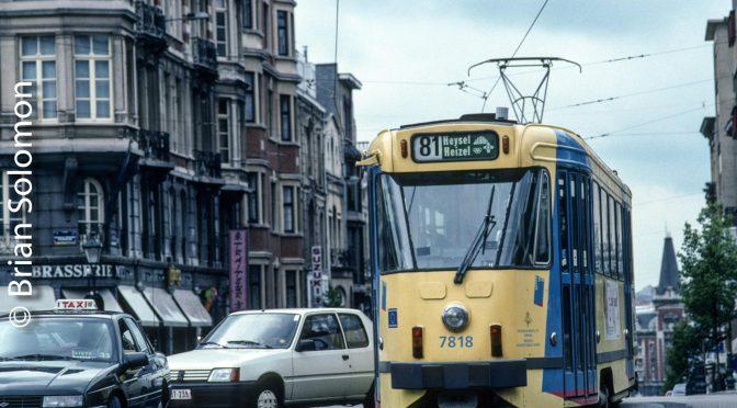Brussels PCC Tram-1996