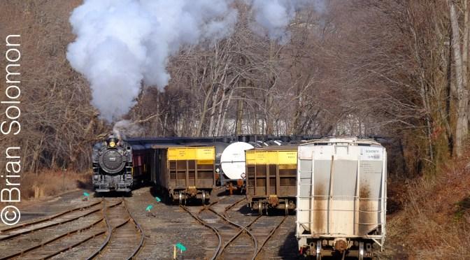Steam at Cressona, Pennsylvania.