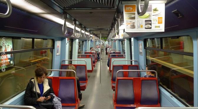 Lisbon Metro Seven Years Ago