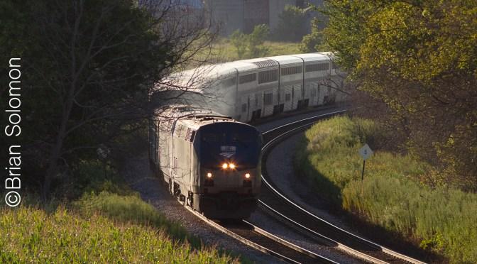 Amtrak's Empire Builder on the Milwaukee Road