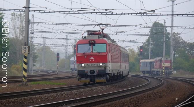 Slovak Express at Drahotuse, Czech Republic