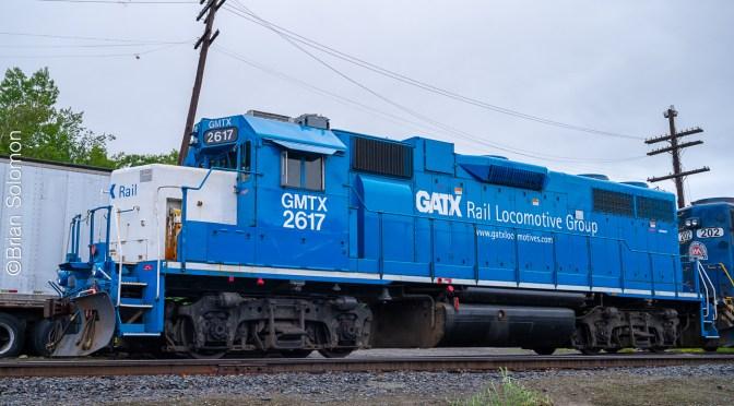 Three GM Diesels at White River Junction, Vermont