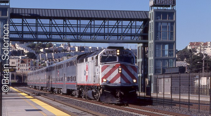 Cal Train at Bayshore—A Scanner Story