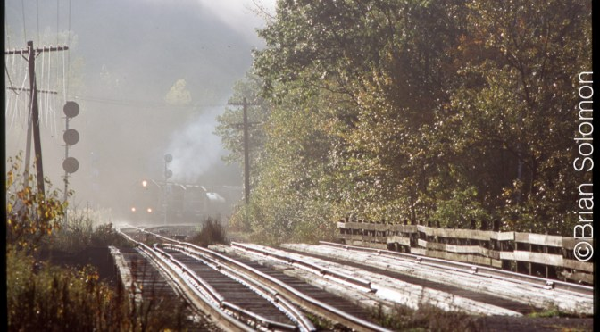 Misty Morning at East Portal