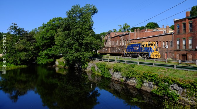 Five Years Ago on the New England Central