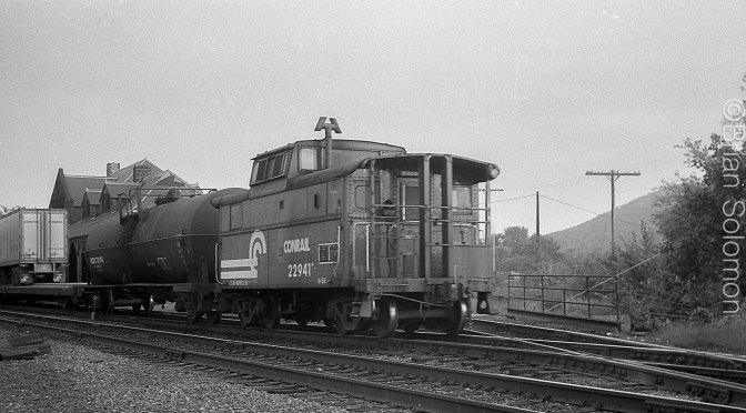 Caboose at the Diamond—August 1982