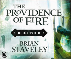 Tor Books Providence of Fire Blog Tour at The Qwillery