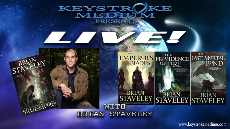 LIVE! with Brian Staveley at Keystroke Medium