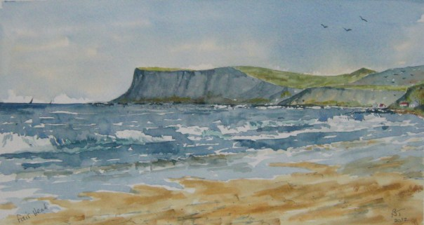 Fairhead on the Antrim Coast