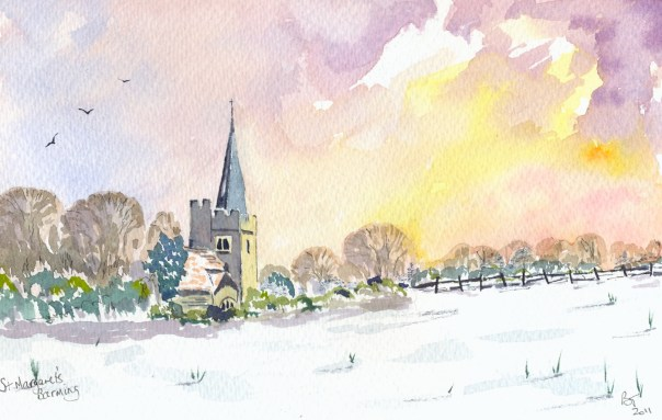 St Margaret's Church in Barming, Kent