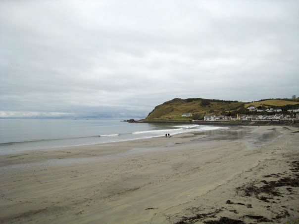 Photo of Ballygally on the Antrim Coast
