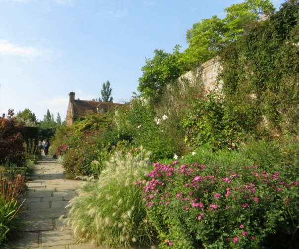 A quiet corner of Sissinghurst castle Garden