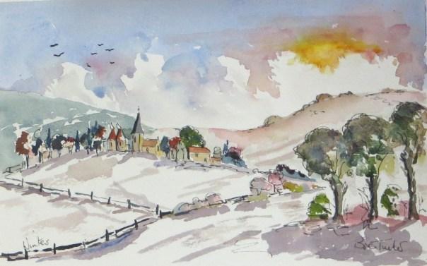 A village in Kent