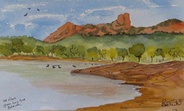 The Esterel Mountains near Agay