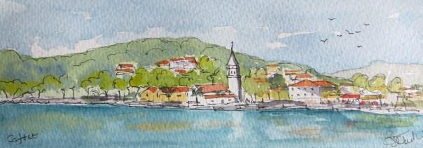 Cavtat in Croatia
