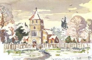 Kent, Debtling Church in 1809