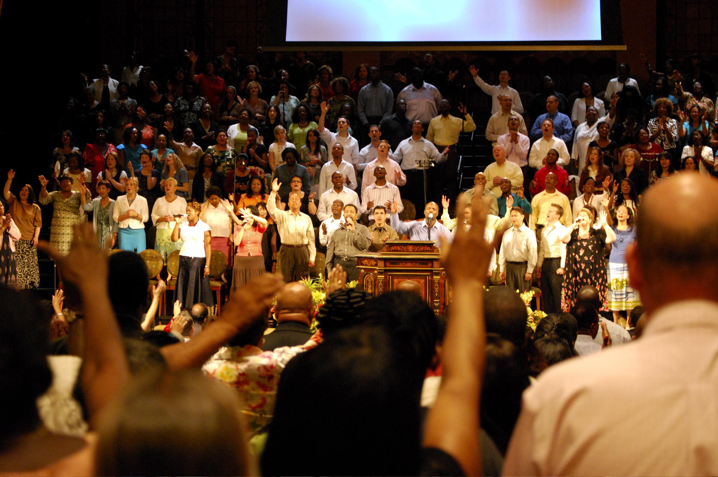 Worship At The Brooklyn Tabernacle