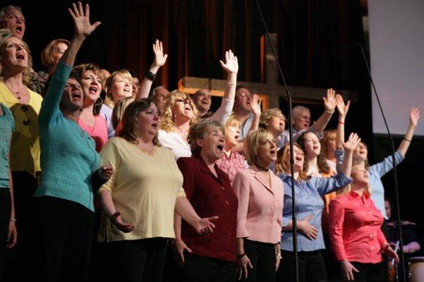 The MPCC Choir Singing
