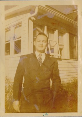Uncle Charlie, 20 yrs old, 1946
