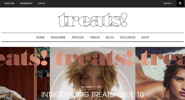 Treats! Magazines - Magazines that accept publications