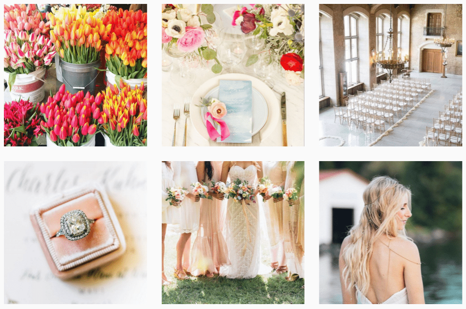 wedding instagram feature accounts