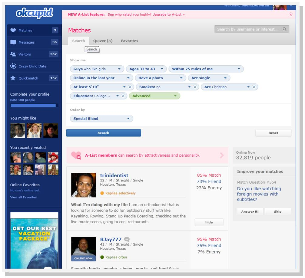 okcupid profile template - rapid response fear and loathing in las vegas the