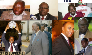 FKF leadership history