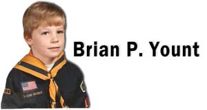 Brian P. Yount Cub Scout Photo