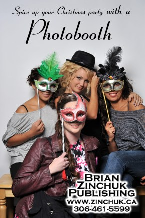Christmas party photobooth ad 2015 BZ Publishing