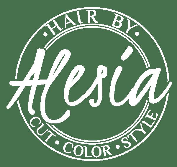 Hair by Alesia White Logo