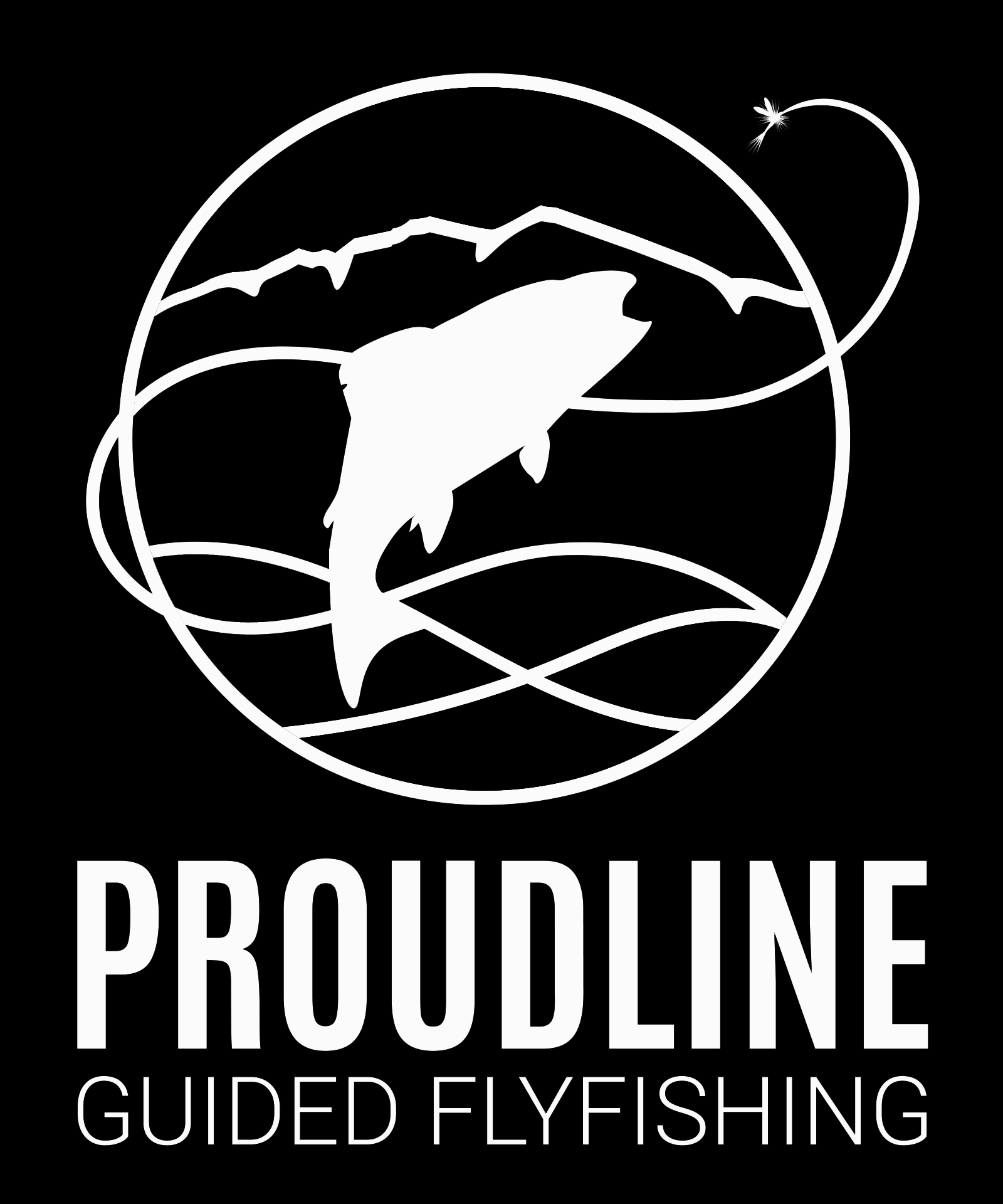 Proudline Guided Flyfishing Logo
