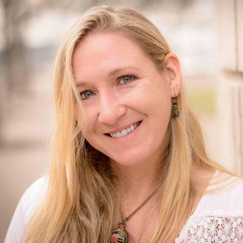 Cherie Dawn Haas, author, writer, yogi