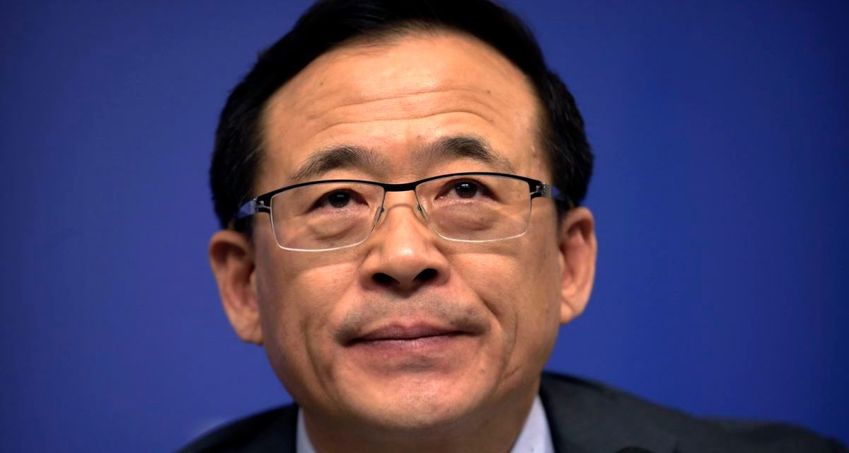 China: China Securities Regulatory Commission head falls from grace.