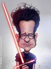 Caricature de JJ Abrams