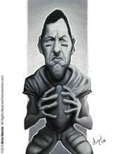 Caricature de Adam Sandler