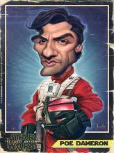 Caricature de Oscar Isaac