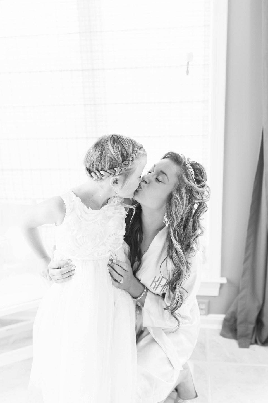 Bride and Flower Girl | Bri Cibene Photography | www.bricibene.com