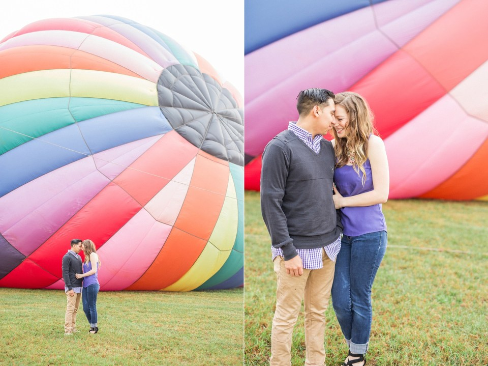 Hot Air Balloon Anniversary Session | www.bricibene.com | Jacksonville, Florida and Worldwide Wedding Photographer
