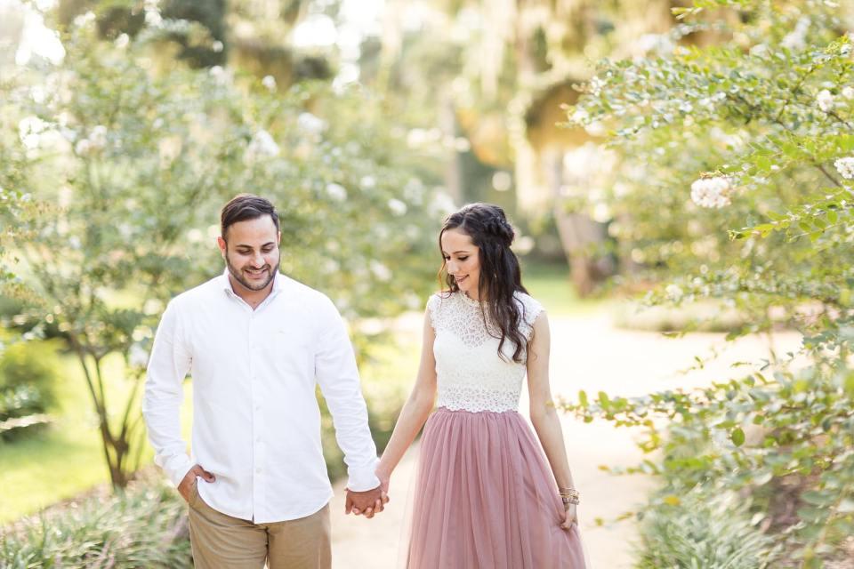 Washington Oaks Gardens Engagement Photos | Jacksonville, Florida Wedding Photographer | Bri Cibene Photography