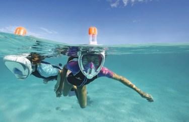 maschera snorkeling