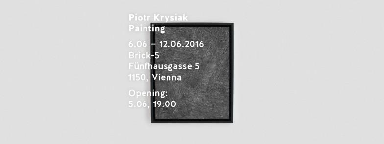 Piotr Krysiak – Painting (Vernissage)