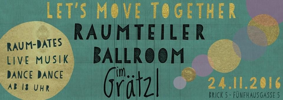 "ImGrätzl.at - ""Raumteiler Ballroom"""