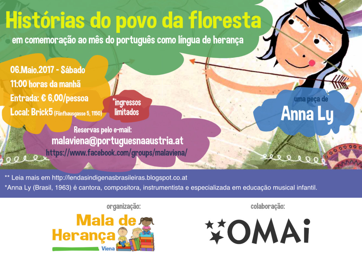 Histórias do povo da floresta (Geschichten der Waldleute)  - Kindertheater