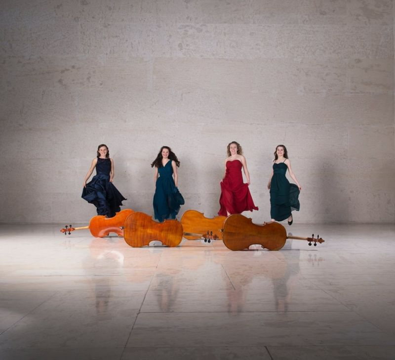 "Die Kolophonistinnen ""Four Cellists in Chile"""