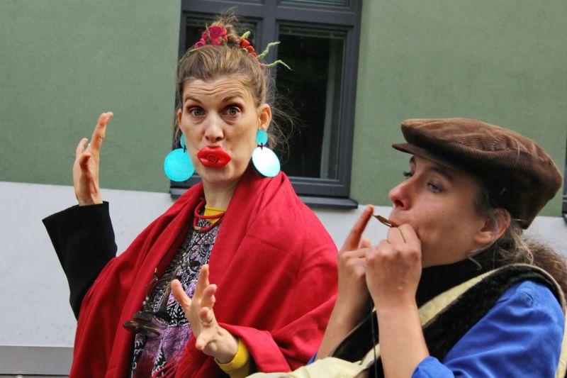 """Theater Fleischerei Mobil: Performance Workshop """"My Utopia"""" Theater, Workshop"""