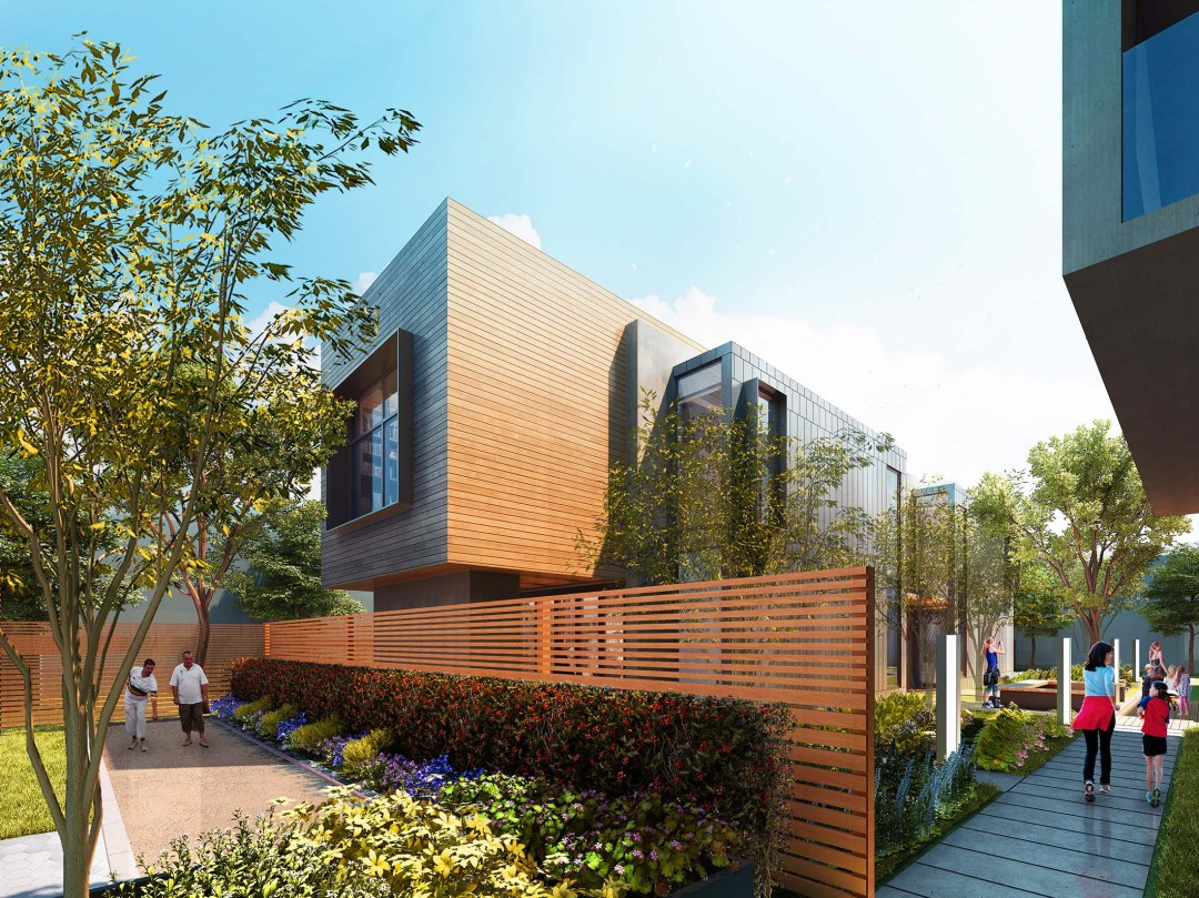 650 Live Oak Mixed-Use Architectural Project Menlo Park